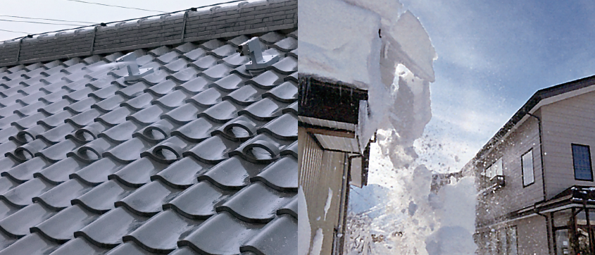 屋根散水の決定版! 丸由の「散水瓦システム・散水瓦」